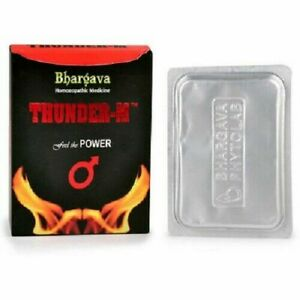 Dr. Bhargava Homeopathic Thunder M Tablet (30tab) for premature ejaculation MEN