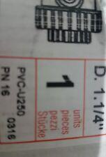 "PN16 - PN 16 Plasson Check Valve PVC-U250 Dia 3/4"" (1061K) BNIB FREE DELIVERY"