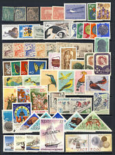 Worldwide stamp collection no.1 with many mnh and many topics on 1 page