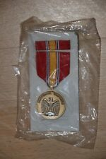 GENUINE US UNITED STATES NATIONAL SERVICE MEDAL FULL SIZE WITH RIBBON BAR
