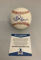 ICHIRO SUZUKI SIGNED OFFICIAL MLB BASEBALL SEATTLE MARINERS ROY 01 RARE+BAS COA!
