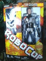 TOY ISLAND ROBOCOP ELECTRONIC CUSTOM METALLIZED COLLECTOR'S ACTION FIGURE,SEALED