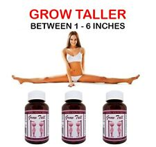 Bone Growth Pills SAFELY BE TALLER 3 Month Course LIMITED OFFER PRICE $59.99