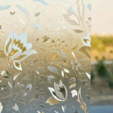 Static Cling Glass Film Waterproof Home Decor Insulation Frosted Window