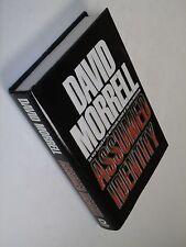 "New 1993 1st ed/1st pr ""Assumed Identity"" Morrell Espionage Thriller Hdbk"