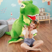 79'' Giant Big Dinosaurs Rex Plush Soft Toy Doll Stuffed Animal Pillow Kids Gift
