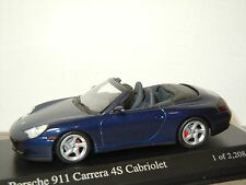 Porsche 911 996 4S Cabriolet 2003 - Minichamps 1:43 in Box *30339