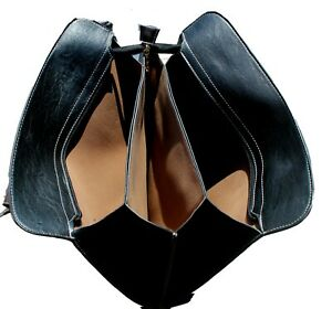 Ladies Large Satchel Style Handbag in Black