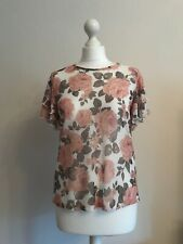 Ladies New Look Floral Top Size 12