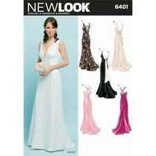 New Look Misses' Special Occasion Dresses Sewing Pattern 6401