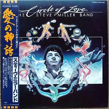 "1981 ""NM Wax"" The Steve Miller Band Circle Of Love ECS-81460 Japan Macho City"
