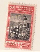 ARGENTINE  N°:130 VENTE PESOS  NEWS - YEAR 1903   CV : 170 €