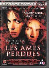 DVD ZONE 2--LES AMES PERDUES--RYDER/CHAPLIN/KAMINSKI