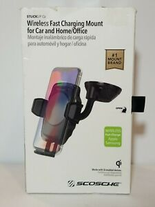 Scosche WDHCQ2M-XTSP1 Wireless Fast Charging Mount for Car and Home/Office.