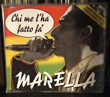Marella-Chi Me L'Ha Fatto Fa' Cd Single VG+ 1996 Sanremo Raggamuffin 3 Tracks