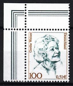 BRD 2000 Mi. Nr. 2149 mit Eckrand Postfrisch LUXUS!!! (33446)