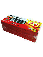 150 X PANASONIC PRO POWER AAA ALKALINE BATTERY MN2400