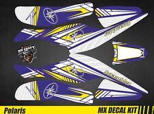 Kit Déco Quad / Atv Decal Kit Polaris Scrambler Trailblazer  - Blue Arrow