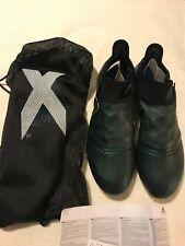 Men's Adidas X 17+ Purespeed FG S82445 Soccer Cleats Black/Solar Yellow Size 11