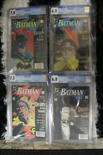 Batman #426 #427 #428 #429 A Death in the Family Books 1,2,3 & 4 All CGC Graded