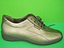 MEPHISTO Bronze Metallic Leather NEW Athletic Comfort Shoes 6