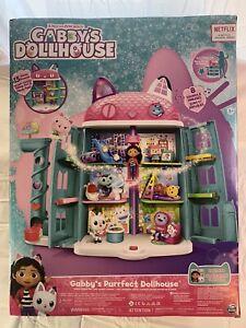 Gabby's Purrfect Dollhouse by DreamWorks 15 Piece With Sound NEW Netflix