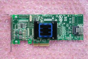 Adaptec ASA-6405H 4-Port 6Gb/s SAS SATA Host Bus Adapter HBA PCI-e Gen2 x4
