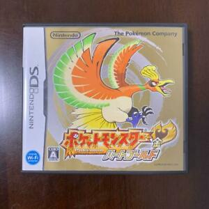 used Pocket Monsters HeartGold Nintendo DS Computer RPG