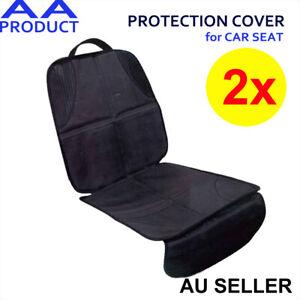 2x Auto Car Baby Kid Children Booster Seat Protector Mat Cover Cushion Anti-Slip