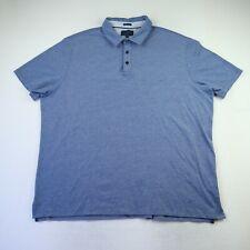 Fairlane Short Sleeve Blue Polo Men's Size 2XL