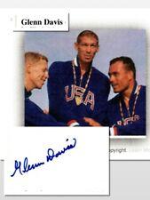 Glenn Davis, Olympic gold medalist Sprints and Hurdles     (7432