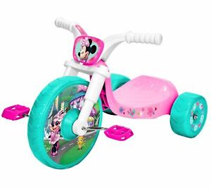 Disney Jr Minnie Mouse 10 Inch Fly Wheels Junior Trike with Sounds