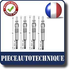 4 BOUGIES DE PRECHAUFFAGE RENAULT KANGOO CLIO II 2 1.9 D DCI DTI REF:502022