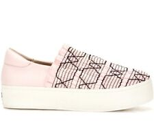 NEW Opening Ceremony CICI Smocked Slip-On Platform Sneaker 41/9 Pink Black $250