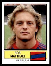 Panini Voetbal 88 (Nederland) Rob Matthaei Haarlem No. 158