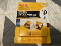 NEW SEALED KODAK COLOR INK CARTRIDGE TWIN PACK 2 X 420 10C TRI COLOR