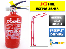 1 KG ABC POWDER FIRE EXTINGUISHER HOME OFFICE CAR KITCHEN WITH WALL BRACKET