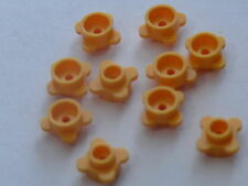 Lego 10 fleurs orange 4630 41062 10702 3931/ 10 bright light orange flower / NEW