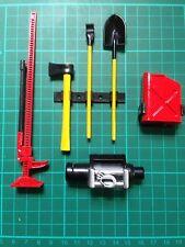 1:10 accessoire en plastique échelle Jeu outils RC Rock Crawler Rouge & Couleur Jaune