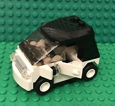 Lego MOC City Smart Car With Odometer And License Plate / Small Utility Vehicle