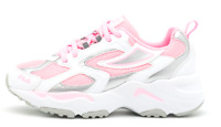 Scarpe Bambina FILA CR-CW02 X RAY TRACER Sneaker Basse Bianche Rosa Sportive