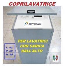 MOBILE COPRILAVATRICE IN LAMIERA ZINCATA LAVATRICE PER ESTERNO CARICA DALL'ALTO