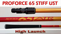 Taylor Made Shaft UST ProForce 65 Stiff High Launch SIM,M1,M2,M3,M4,M5,M6,R15