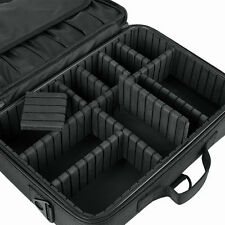 "NEW Large 16"" 40cm BLACK Camera Case Bag Organizer Photographer Moveable Divider"