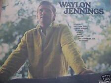 LP WAYLON JENNINGS - WAYLON JENNINGS / usa edit / très bon état