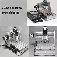Ballscrew 3020 CNC Router engraver engraving and milling carving machine