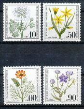 Berlin  629 - 632 postfris motief bloemen