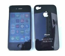 iPhone  4 4S hard Cover case skin Black