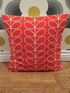 Orla Kiely Stem Tomato Cushion Cover 16 inch All Sizes