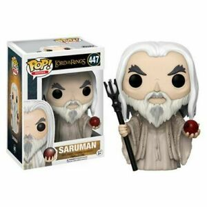 FUNKO POP! LORD OF THE RINGS SARUMAN VINYL FIGURE #447